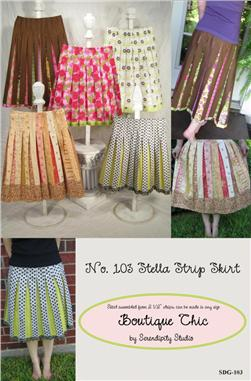 Serendipity The Stella Strip Skirt Pattern