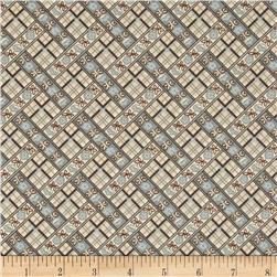 Penny Rose Penelope Plaid Blue Fabric