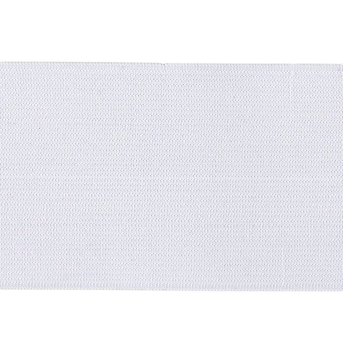 "3"" Heavy Duty Elastic White"