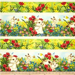 Quiet Bunny's Many Colors Repeating Stripe Multi