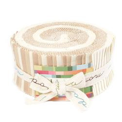 Moda Bella Solids 2-1/2'' Jelly Roll Neutral