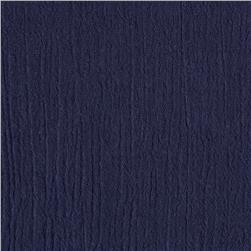 Cotton Gauze Navy Fabric