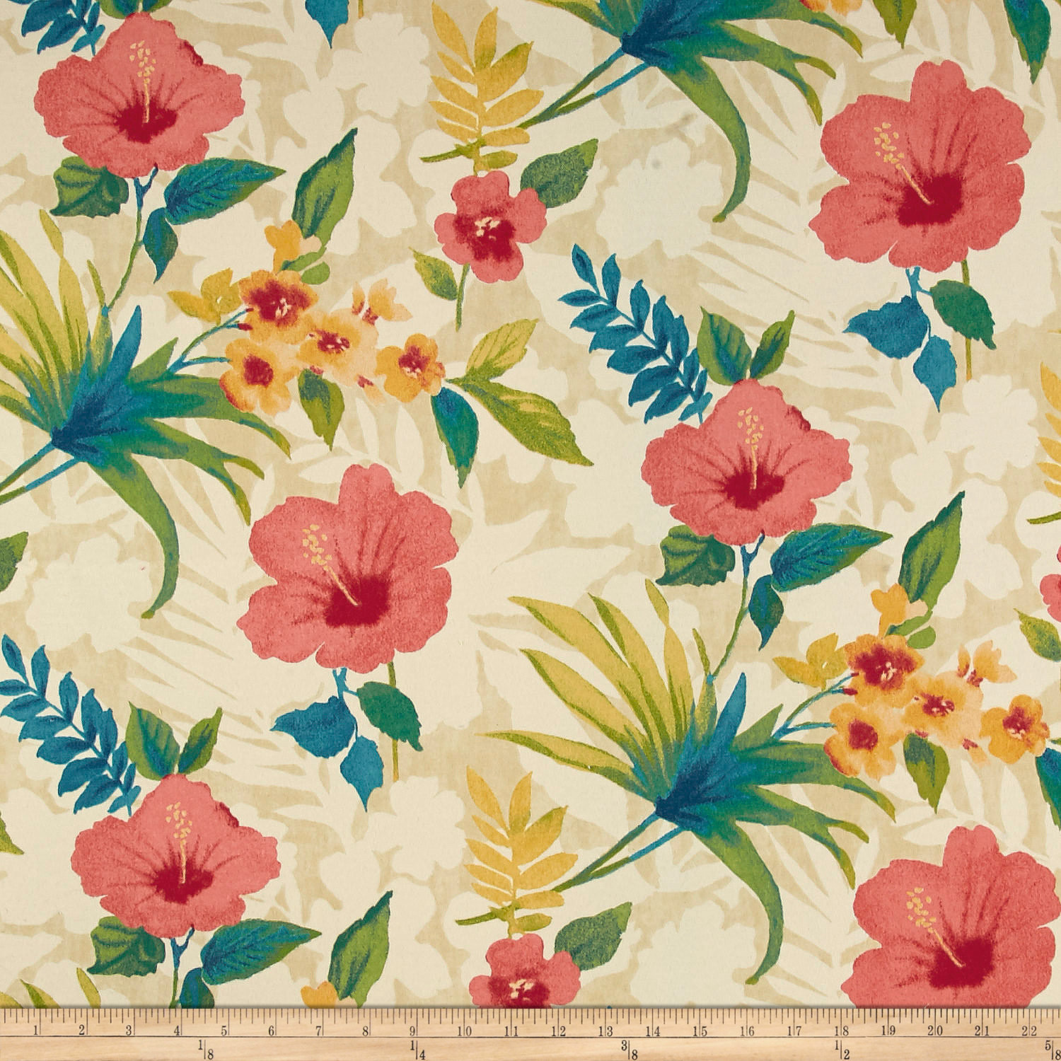 Tommy Bahama Indoor/Outdoor Pool Party Capri Fabric by Waverly in USA