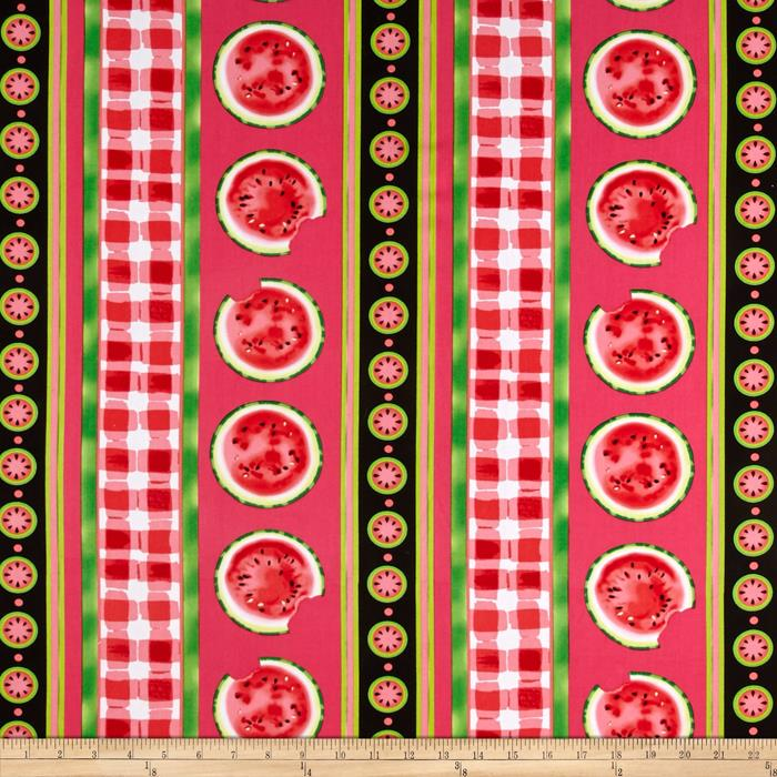 Kanvas Mad For Melon Watermelon Stripe Melon