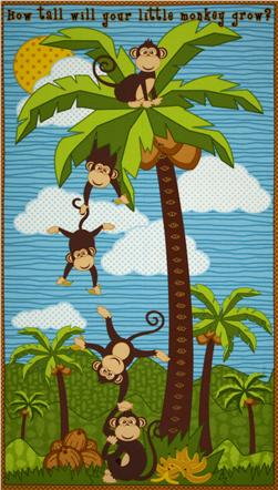 Coconut Grove Growth Chart Panel Blue
