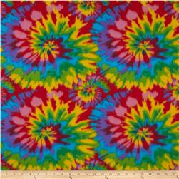 Polar Fleece Prints Tie Dye Bright
