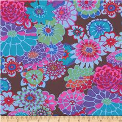 Kaffe Fassett Collective Asian Circles Dark Fabric