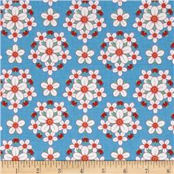 Arkansas State Flower Apple Blossom Red/White/Blue