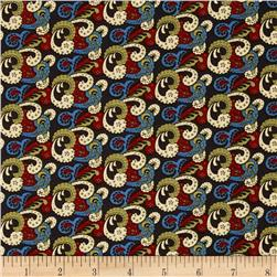 Birds of a Feather Multi-Color Paisley Multi Fabric