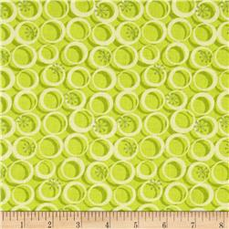 Cosmopolitan Circles Lime Green