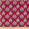 Ink & Arrow Paloma Foulard Fuchsia