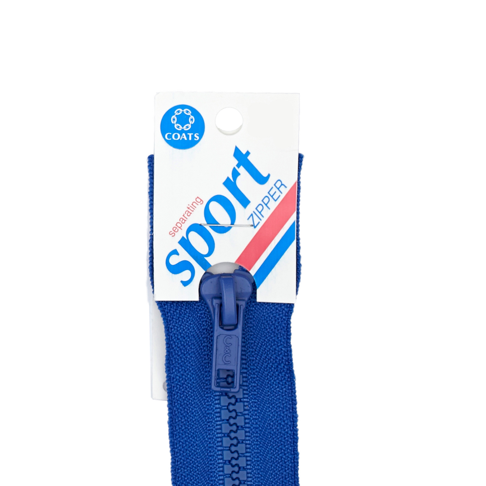 Coats & Clark Sport Separating Zipper 12'' Bluebird