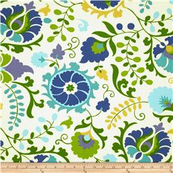 Richloom Solarium Outdoor Sahalie Opal Home Decor Fabric