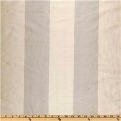 Dupioni Silk Awning Stripe Ivories