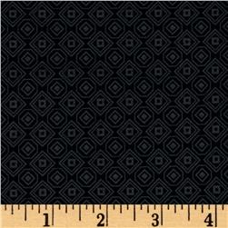 Marcus High Contrast Diamonds Black