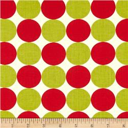 Moda Neco Big Dots Red