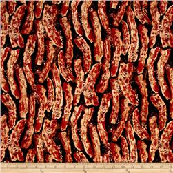 Timeless Treasures Sizzling Bacon