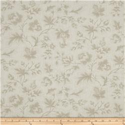"Moda Midnight Clear 108"" Wide Quilt Back Jacobean Damask Starlight"