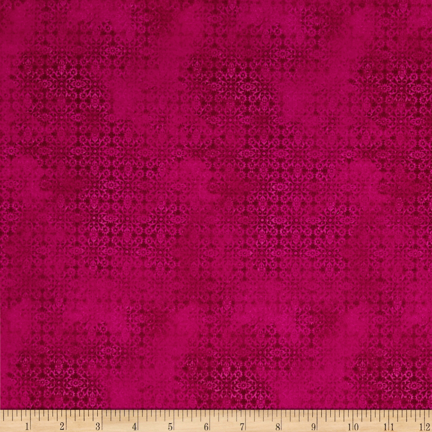Calypso Basic Print Dark Red Fabric by Fabri-Quilt in USA