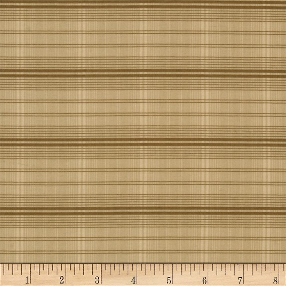 Penny Rose Plaid Tan