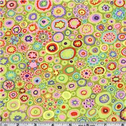 Kaffe Fassett Paperweight Lime Fabric