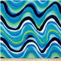Polar Fleece Print Circe Lagoon
