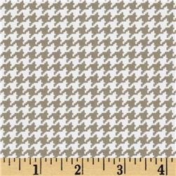 Michael Miller Tiny Houndstooth Dirt