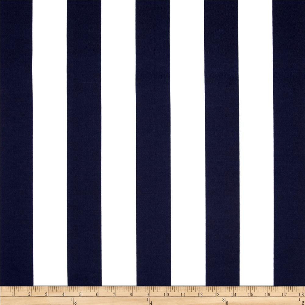 Bryant Indoor Outdoor Awning Stripe Navy Discount