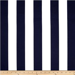 Bryant Indoor/Outdoor Awning Stripe Navy Fabric