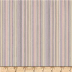 Kaufman Classic Threads Small Stripe Sorbet