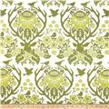 Joel Dewberry Birch Farm Antler Damask Sage