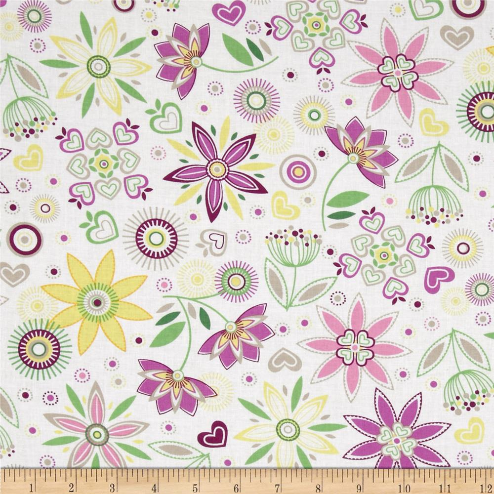 LuLu Large Floral Purple