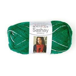 Red Heart Boutique Sashay Sparkle Yarn Emerald