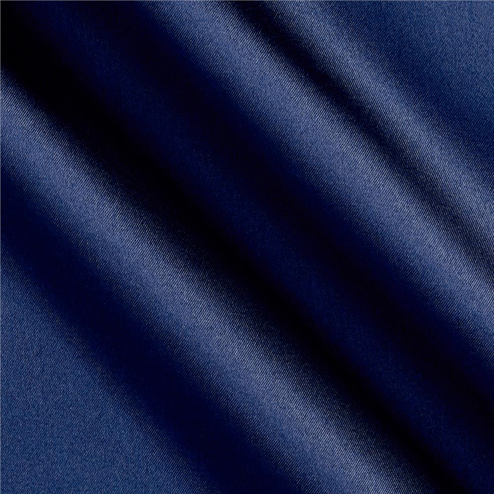 Debutante Stretch Satin Navy