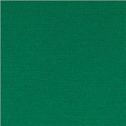 Ponte de Roma Solid Kelly Green Fabric