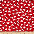 Barnyard Quilts Sheep Red