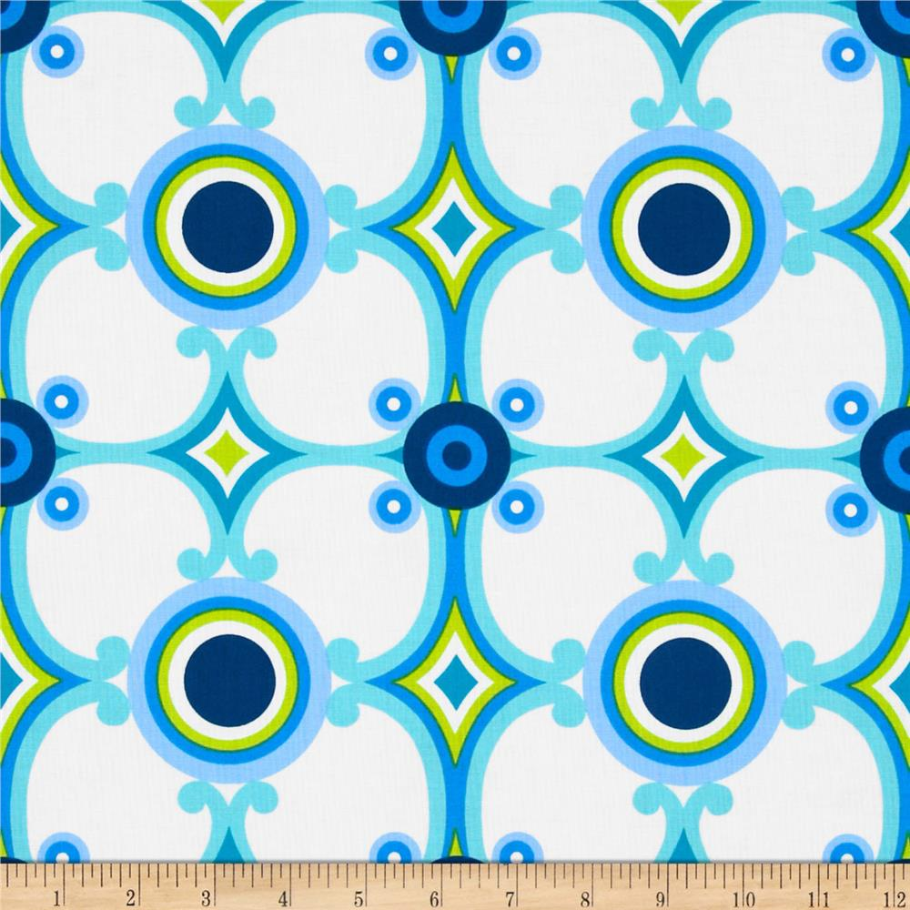 Contempo Palm Springs Medallion Blue