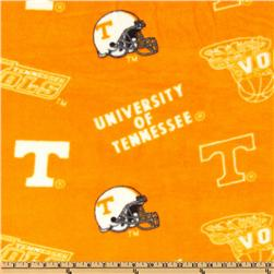 Collegiate Fleece University of Tennessee Tossed Orange/White