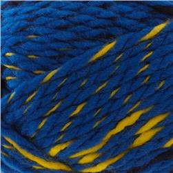 Lion Brand Yarn Zaps Atomic Blue