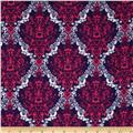 Kaufman 21 Wale Cool Cords Damask Purple