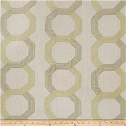 Keller Embroidered Elsa Lattice Lime