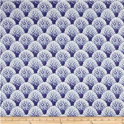 Home Accents Coral Line Aegean Fabric
