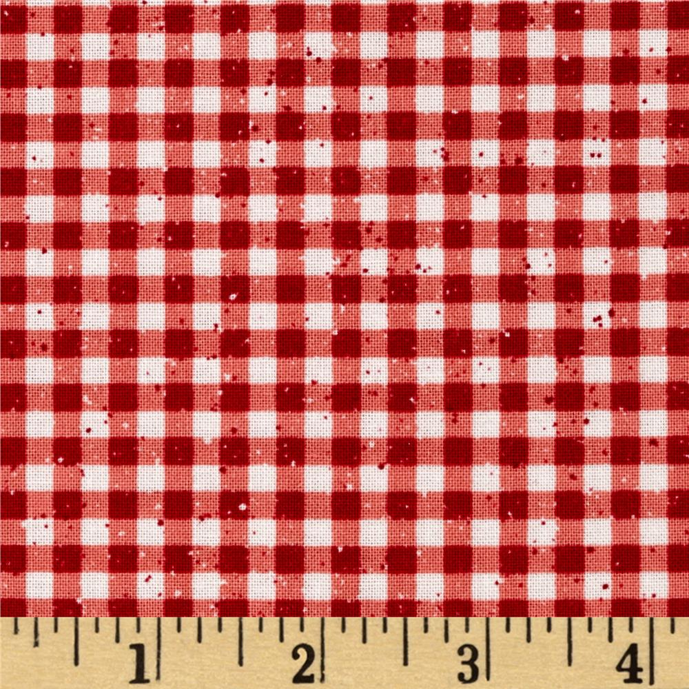 Buon Appetito Gingham Red