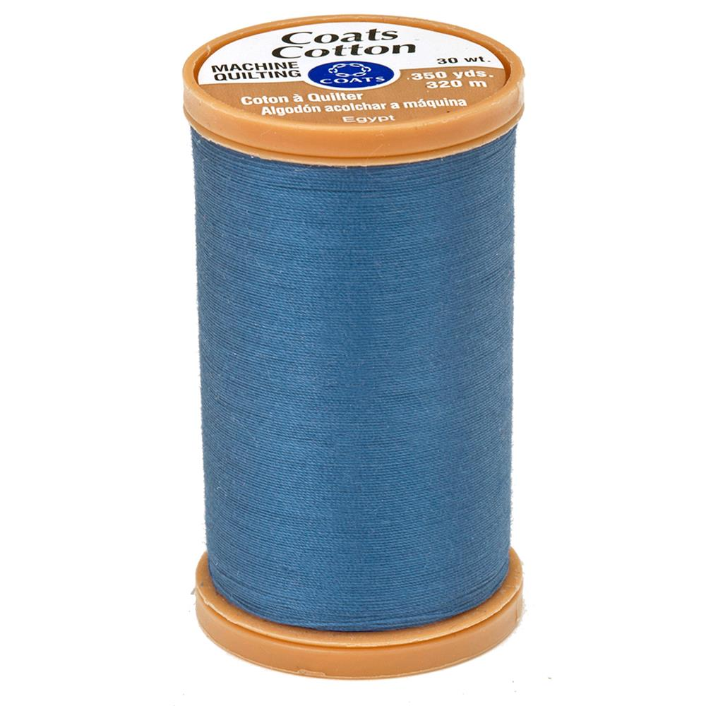 Coats & Clark Machine Quilting Cotton Thread 350 yd. Miniture Blue
