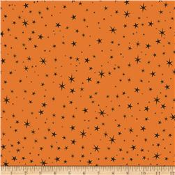 Riley Blake Witch Hazel Witch Stars Orange Fabric