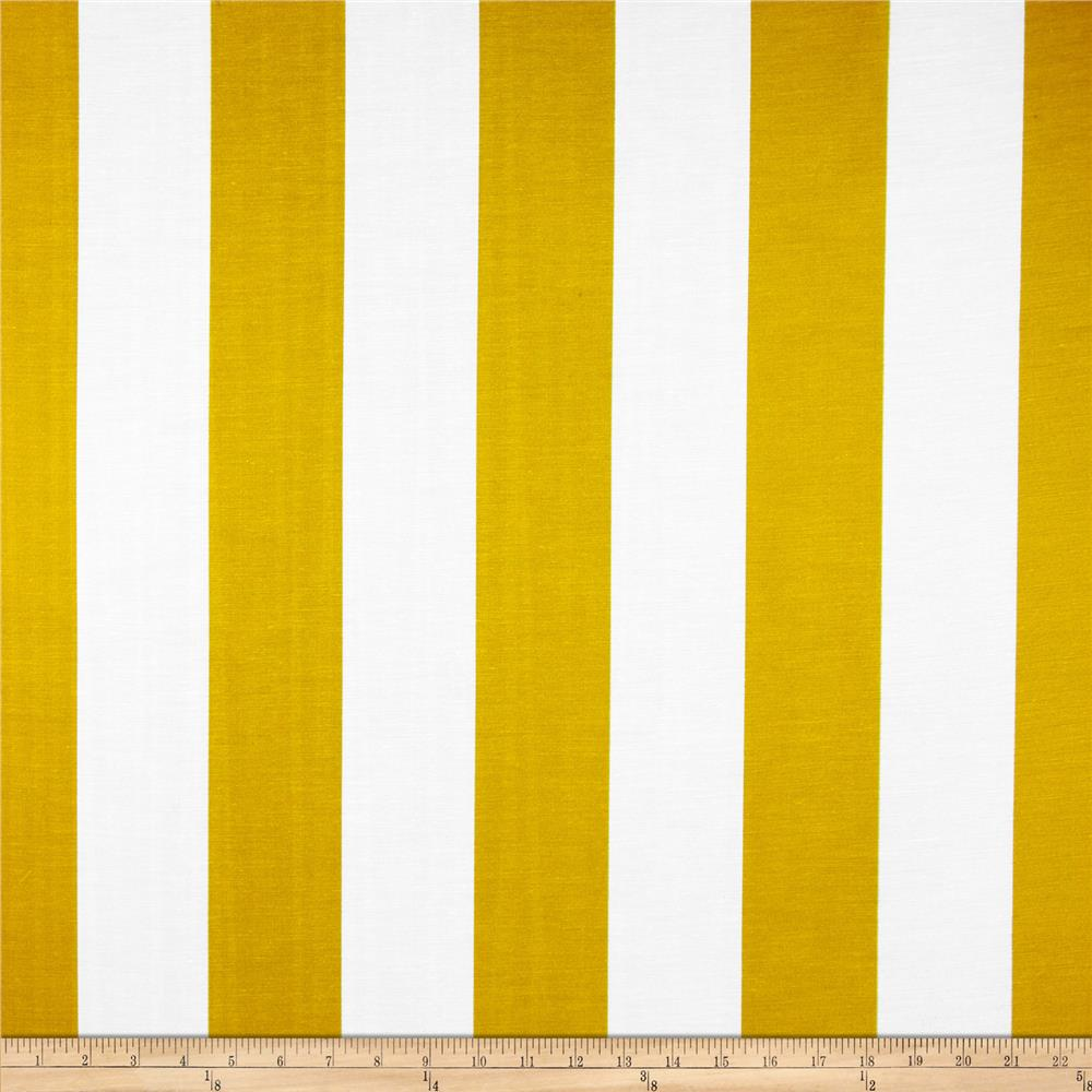 RCA Sheers Uno Vertical Stripe Lemon