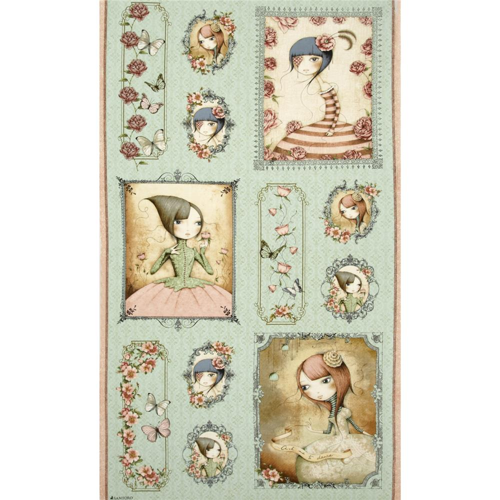 Mirabelle Picture Patch 24 In. Panel Green