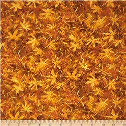 Moda Modascapes Maple Leaves Golden Fall
