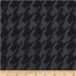 Color Catchers Yarn-Dye Flannel Houndstooth Black
