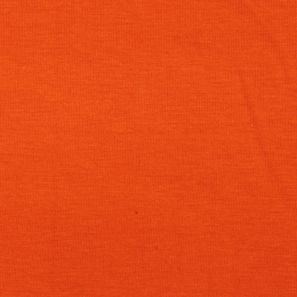 Stretch Rayon Jersey Knit Bright Orange